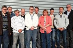 Fünfter von links : Martin Klösener, neuer RTF Fachwart für den Bezirk OWL