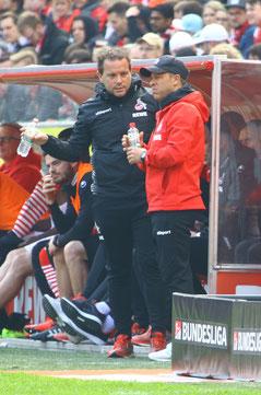 Markus Anfang und Tom Cichon gegen Holstein Kiel - Foto: pin