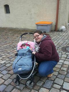 Vanessa H. mit Nichte