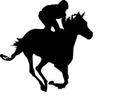 Grafik für Pferderennen