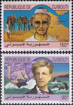 Francobolli  dedicati a Rimbaud