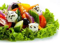 Хориатики, классический греческий салат