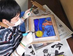 ステンドグラスが作れるようになるアート教室安曇野市、松本市