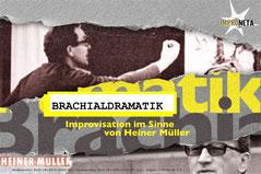 Improneta 2019, Improfestival Berlin, Pankow, Improtheater, Brachialdramatik, Improvisation im Sinne von Heiner Müller, 1.11.2019 Theatershow, Improshow,  Berlin lebt Impro