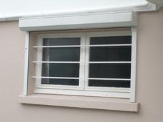 fenêtre avec barre anti effraction