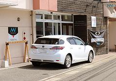 無料の駐車スペース