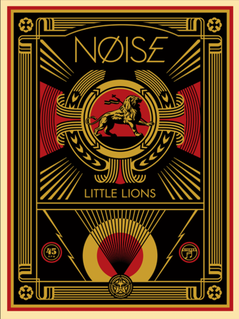Shepard Fairey Little Lions