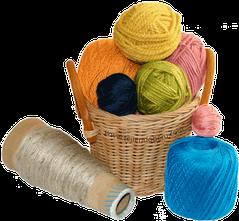 Cómo tejer en dos agujas o palitos: materiales