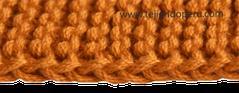 Cómo tejer en dos agujas o palillos: bordes