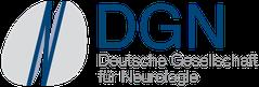 """Das Logo der DGN als Herausgeber der Leitlinie """"Chorea"""" für die wichtigsten medizinischen Empfehlungen bei der Huntington-Krankheit / Chorea Huntington"""
