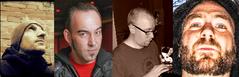 Diktatorenquartett mit André Bohnwagner, Viktor Hacker, Jan Turner, Thomas Nast