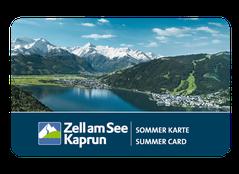 Zell am See Kaprun Sommer Karte