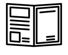 asiakaslehdet ja kuvastot