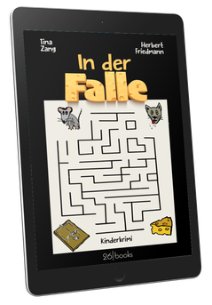 "Cover ""In der Falle"" Kinderkrimi"