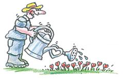 Bild: Gärtner mit Herz