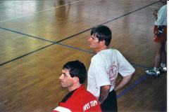 Tchoukball Genève 2000, à g. Marco Salvi