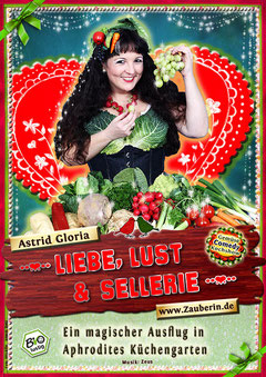 Astrid Gloria, lustige Gemüse-Kochshow über die aphrodisierende Wirkung von Gemüse