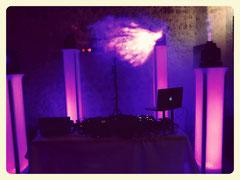 DJ pour une soirée de mariage au Château la Hitte à mi-chemin entre bordeaux et Toulouse