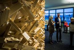 besuchder Ausstellung hitART und der Sammlung Birkel im hit-Technopark