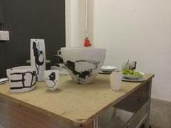 Keramikkunstwerke von Karin Bablok