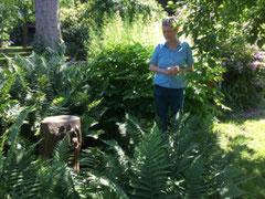 Ausflug in den privaten Skulpturengarten von Renate Thomsen