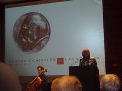 Verleihung der Gustav-Schiefler-Medaille 2014