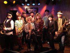 1/27(金)LIVE at 柏WUU 出演者集合写真