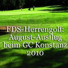 Herrengolf-Ausflug 2010 zum GC Konstanz. Golf-Club Freudenstadt. Foto Rainer Sturm stormpic.de