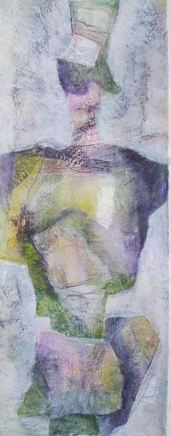 2007  -  bin halt anders ... - papier  -  50x20 cm