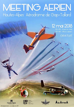 Meeting Aerien Gap-Tallard 2018 - photos - Patrouille de France 2018