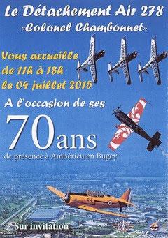 70 ans BA-278 Ambérieu en Bugey ,  Détachement Air 278,  French air base 278 Ambérieu 70th anniversary airshow.