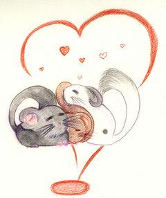 Fuente: http://felwyn.deviantart.com/art/Chinchillas-Love-213537846
