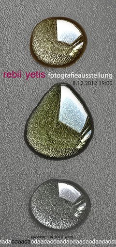 Rebii Yetis exhibition - December 2012