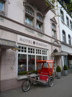 Hotel Hanseat in Oberkassel