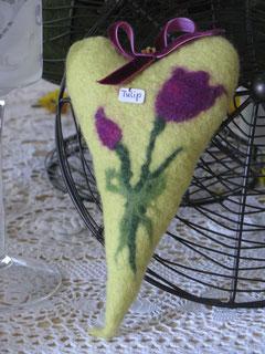 Lavendelherzen