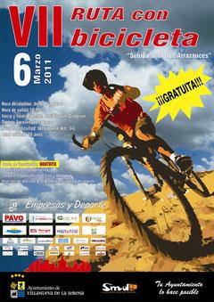 "VII Ruta en bicicleta ""Subida al  monte arrazauces"""
