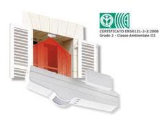 Sensori da esterno impianti d 39 allarme - Sensori allarme alle finestre ...