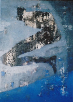 Abyss  41×31.8cm  Oil on canvas  2001