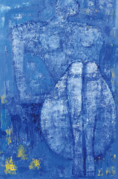 Quiet thought  194×162cm Oil on canvas