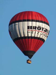 Heissluftballon des Balloon Team Kirchlengern
