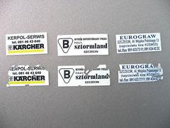 sceaux de garantie autocollants