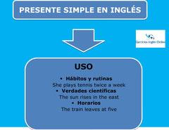Presente simple en inglés