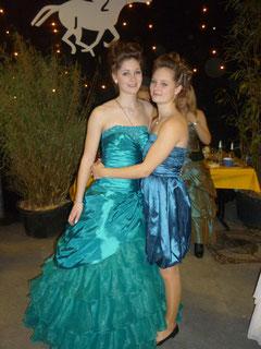 Die Geschwister Ina und Frauke Lohmann