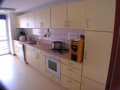 Küchenzeile in beige