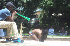 Urban Jungle,performance 2012 (Johannesburg) cliquez sur les photos pour agrandir