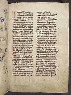 Hildegard von Bingen: Liber Scivias. Um 1200 (Heidelberg, Universitätsbibl., Cod. Sal. X 16)