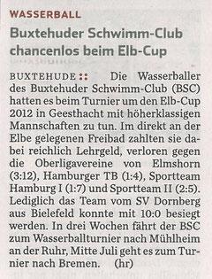 Hamburger Abendblatt vom 12.06.2012