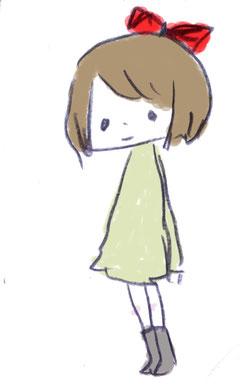 ribon girl