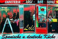 Lolis Tapas-Bar im Hafen von Las Fuentes