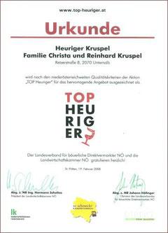 Top Heuriger 2008